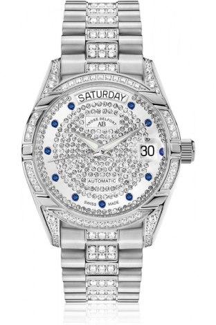 Ρολόι Andre Belfort, Χρώμα Γκρί, Μέταλλο, Τιμή 826,14€