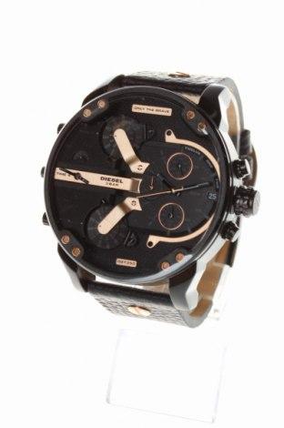 Ceas Diesel, Culoare Negru, Piele naturală, metal, Preț 904,87 Lei