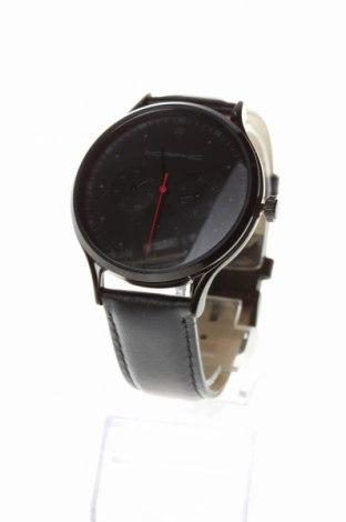 Ρολόι Morphic, Χρώμα Μαύρο, Γνήσιο δέρμα, μέταλλο, Τιμή 155,63€