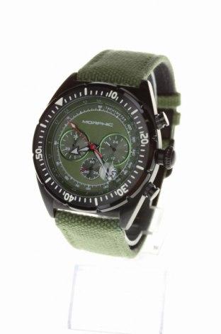 Ρολόι Morphic, Χρώμα Πράσινο, Κλωστοϋφαντουργικά προϊόντα, μέταλλο, Τιμή 237,28€