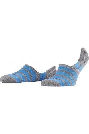 Ciorapi Falke, Mărime S, Culoare Albastru, 65% bumbac, 32% poliamidă, 3% elastan, Preț 53,05 Lei