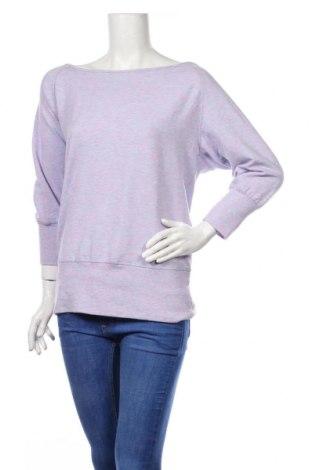 Дамска блуза Active By Tchibo, Размер S, Цвят Лилав, 63% полиестер, 32% вискоза, 5% еластан, Цена 17,96лв.