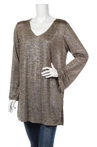 Дамска блуза Alice Bizous, Размер L, Цвят Кафяв, 95% полиестер, 5% еластан, Цена 15,96лв.
