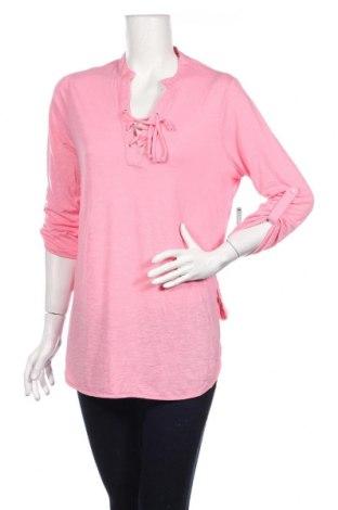 Дамска блуза Almost Famous, Размер L, Цвят Розов, 71% полиестер, 29% вискоза, Цена 26,46лв.