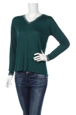 Дамска блуза An'ge, Размер M, Цвят Зелен, 96% вискоза, 4% еластан, Цена 33,12лв.