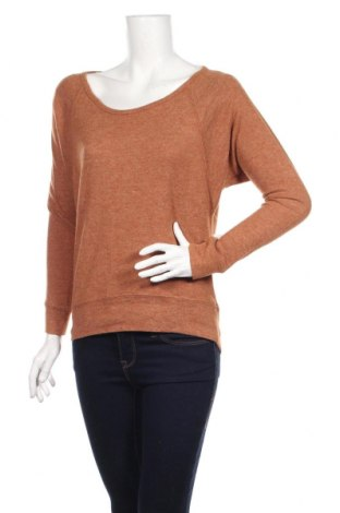 Дамска блуза Ardene, Размер S, Цвят Кафяв, 60% полиестер, 35% вискоза, 5% еластан, Цена 29,57лв.