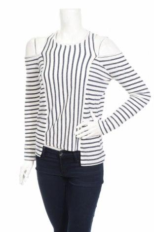 Дамска блуза BCBG Max Azria, Размер XXS, Цвят Бял, 55% памук, 36% полиестер, 9% вискоза, Цена 71,82лв.
