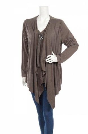 Дамска блуза Betty Barclay, Размер XL, Цвят Сив, 50% памук, 50% модал, Цена 34,99лв.