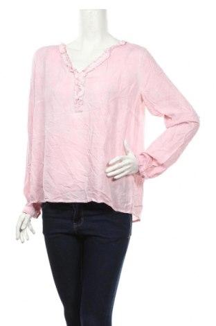 Дамска блуза Blue Motion, Размер L, Цвят Розов, 100% вискоза, Цена 18,90лв.