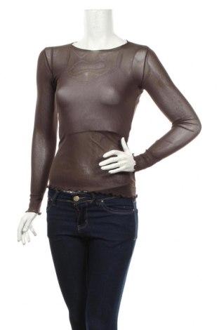 Дамска блуза Cache Cache, Размер S, Цвят Кафяв, Цена 15,75лв.