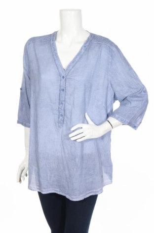 Дамска блуза Charles Vogele, Размер XL, Цвят Син, 100% памук, Цена 17,01лв.