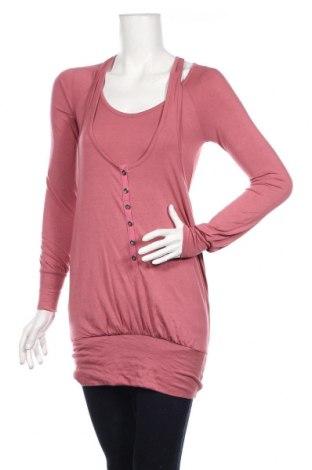 Дамска блуза French Connection, Размер L, Цвят Розов, 90% модал, 10% еластан, Цена 48,20лв.