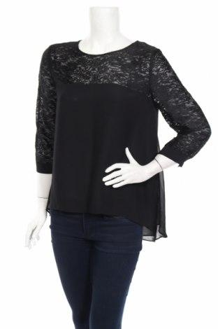 Дамска блуза French Connection, Размер M, Цвят Черен, 54% вискоза, 46% полиамид, Цена 33,92лв.