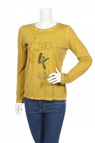 Дамска блуза G.W., Размер L, Цвят Зелен, Цена 29,84лв.