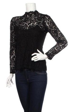 Γυναικεία μπλούζα H&M, Μέγεθος M, Χρώμα Μαύρο, 35% πολυαμίδη, 35% βισκόζη, 30% βαμβάκι, Τιμή 10,82€