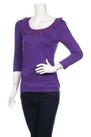 Дамска блуза H&M, Размер S, Цвят Лилав, Вискоза, еластан, полиестер, Цена 17,49лв.