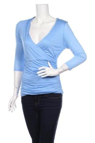 Дамска блуза H&M, Размер S, Цвят Син, 100% вискоза, Цена 17,49лв.