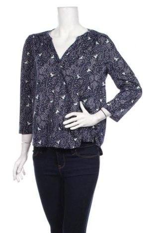 Дамска блуза H&M, Размер M, Цвят Син, Полиестер, Цена 18,52лв.