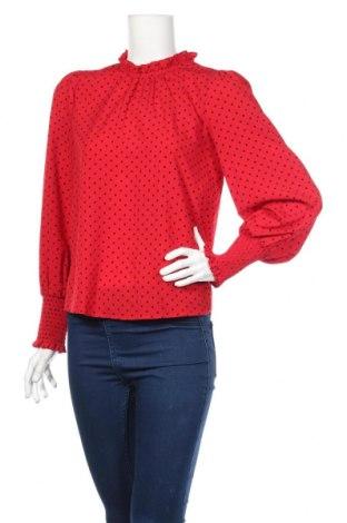 Γυναικεία μπλούζα Hallhuber, Μέγεθος S, Χρώμα Κόκκινο, Πολυεστέρας, Τιμή 24,82€
