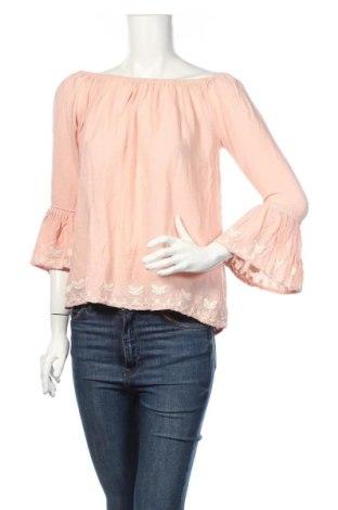 Дамска блуза LCW, Размер S, Цвят Розов, Вискоза, Цена 14,28лв.