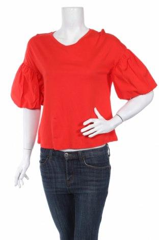 Дамска блуза Mango, Размер S, Цвят Червен, Цена 25,00лв.