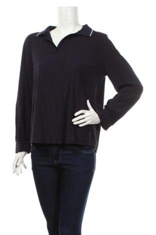 Bluză de femei Marc O'polo, Mărime L, Culoare Albastru, 97% bumbac, 3% elastan, Preț 215,79 Lei