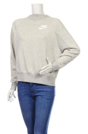 Bluză de femei Nike, Mărime S, Culoare Gri, 58% bumbac, 27% viscoză, 17% poliester, Preț 180,00 Lei