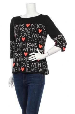 Γυναικεία μπλούζα Street One, Μέγεθος M, Χρώμα Μαύρο, Τιμή 10,82€