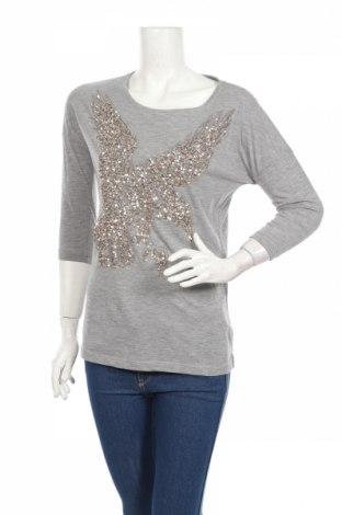 Дамска блуза Yessica, Размер XS, Цвят Сив, 65% полиестер, 35% вискоза, Цена 32,93лв.