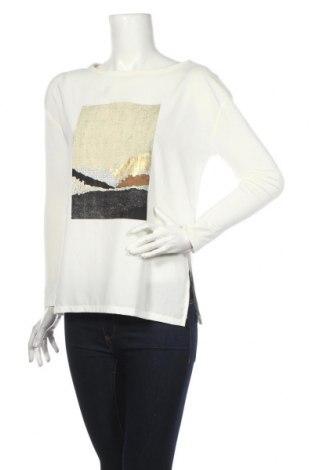 Γυναικεία μπλούζα Zara, Μέγεθος S, Χρώμα Λευκό, Πολυεστέρας, βισκόζη, ελαστάνη, Τιμή 14,64€