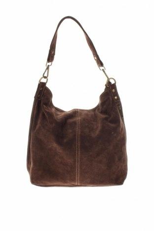 Dámska kabelka , Farba Hnedá, Prírodný velur , Cena  31,70€
