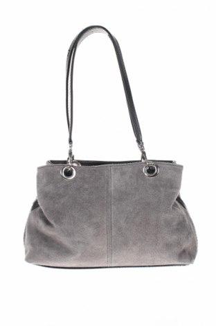 Dámska kabelka , Farba Sivá, Prírodný velur , Cena  32,66€