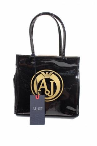 Γυναικεία τσάντα Armani Jeans, Χρώμα Μαύρο, Πολυουρεθάνης, Τιμή 76,08€