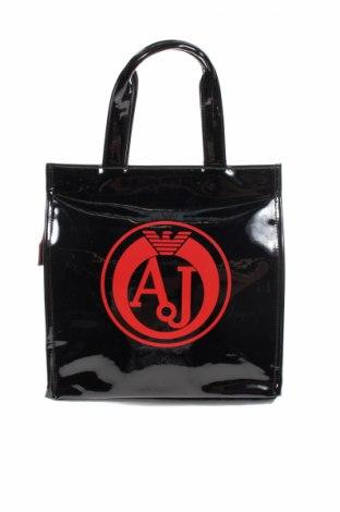 Дамска чанта Armani Jeans, Цвят Черен, Еко кожа, Цена 197,40лв.