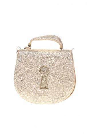 Geantă de femei Ted Baker, Culoare Auriu, Piele naturală, Preț 494,34 Lei