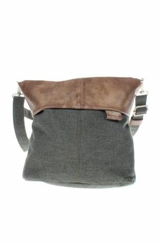 Dámska kabelka  Zwei, Farba Zelená, Textil, pravá koža , Cena  20,10€