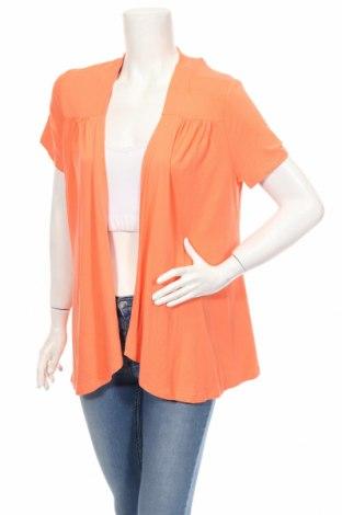 Дамска жилетка Steilmann, Размер L, Цвят Оранжев, 95% вискоза, 5% еластан, Цена 29,90лв.