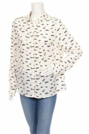 Γυναικείο πουκάμισο Alfred Sung, Μέγεθος L, Χρώμα Εκρού, Πολυεστέρας, Τιμή 11,27€