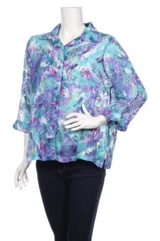 Дамска риза Alia, Размер L, Цвят Многоцветен, 70% вискоза, 30% полиестер, Цена 3,02лв.