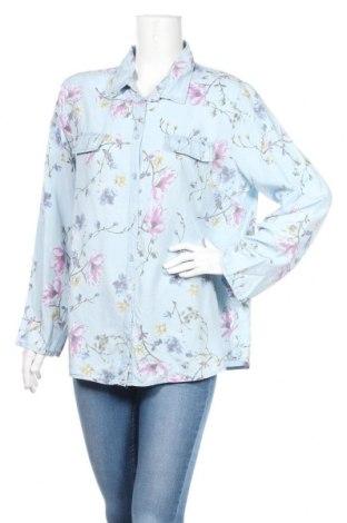 Дамска риза Armand Thiery, Размер L, Цвят Син, Лиосел, Цена 14,28лв.