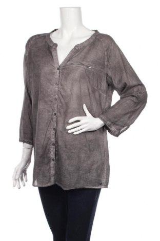 Дамска риза Cecil, Размер L, Цвят Сив, Памук, Цена 13,65лв.
