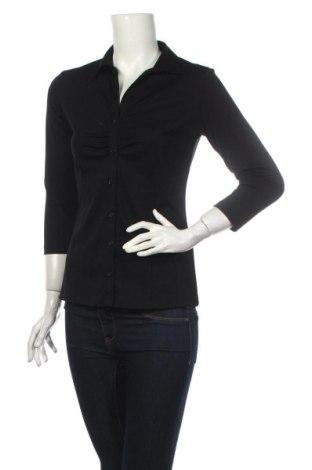 Дамска риза Charles Vogele, Размер S, Цвят Черен, Полиестер, Цена 22,05лв.