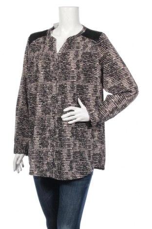 Дамска риза Charles Vogele, Размер XL, Цвят Черен, Полиестер, Цена 19,95лв.