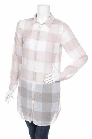 Дамска риза Charles Vogele, Размер M, Цвят Бежов, Цена 19,85лв.