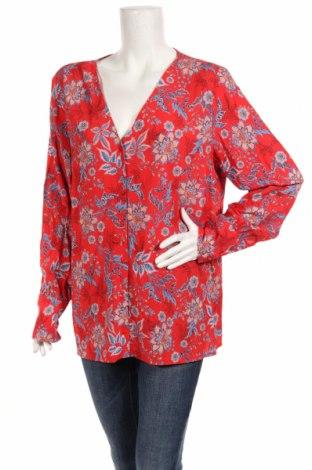 Дамска риза Etam, Размер XL, Цвят Червен, 100% вискоза, Цена 19,95лв.