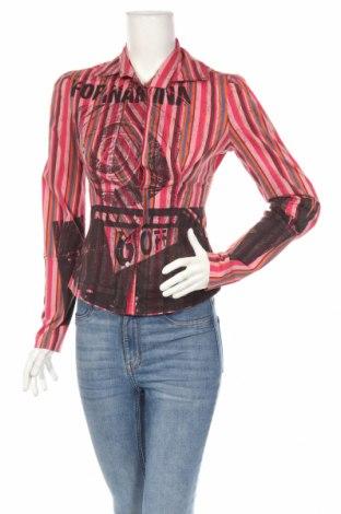 Γυναικείο πουκάμισο Fornarina, Μέγεθος S, Χρώμα Πολύχρωμο, 64% βαμβάκι, 33% πολυαμίδη, 3% ελαστάνη, Τιμή 16,65€