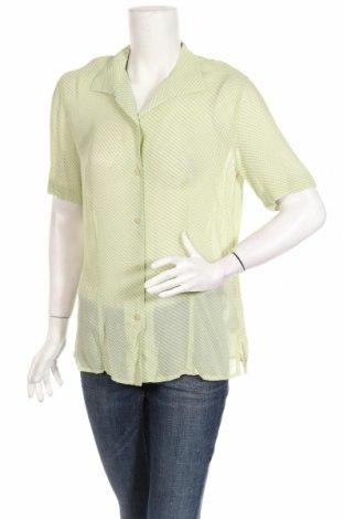 Дамска риза Gerry Weber, Размер M, Цвят Зелен, Вискоза, Цена 7,02лв.