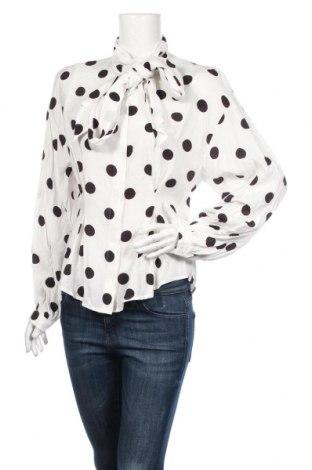 Dámská košile  H&M, Rozměr M, Barva Bílá, 78% viskóza, 22% polyamide, Cena  287,00Kč