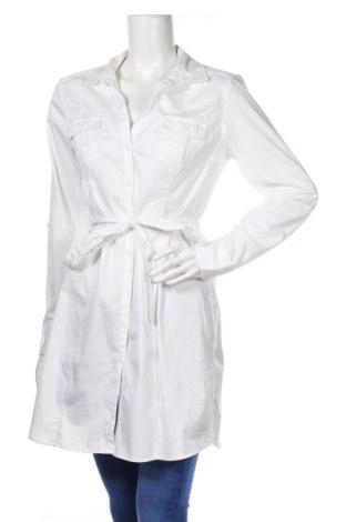 Damska koszula H&M, Rozmiar XL, Kolor Biały, 98% bawełna, 2% elastyna, Cena 69,00zł