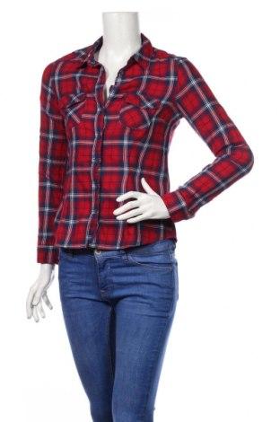 Дамска риза H&M Divided, Размер XS, Цвят Многоцветен, Памук, Цена 19,95лв.
